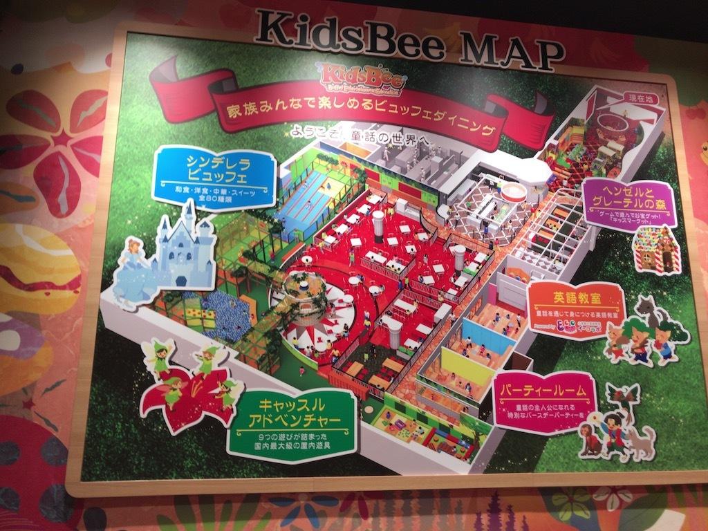 KidsBeeフロアマップ
