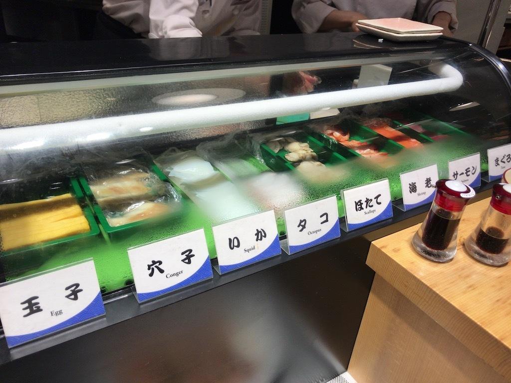 お寿司カウンター