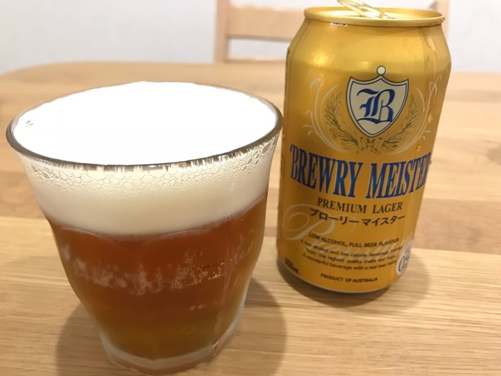 BREWRY MEISTER PREMIUM LAGER(ブローリー マイスター)