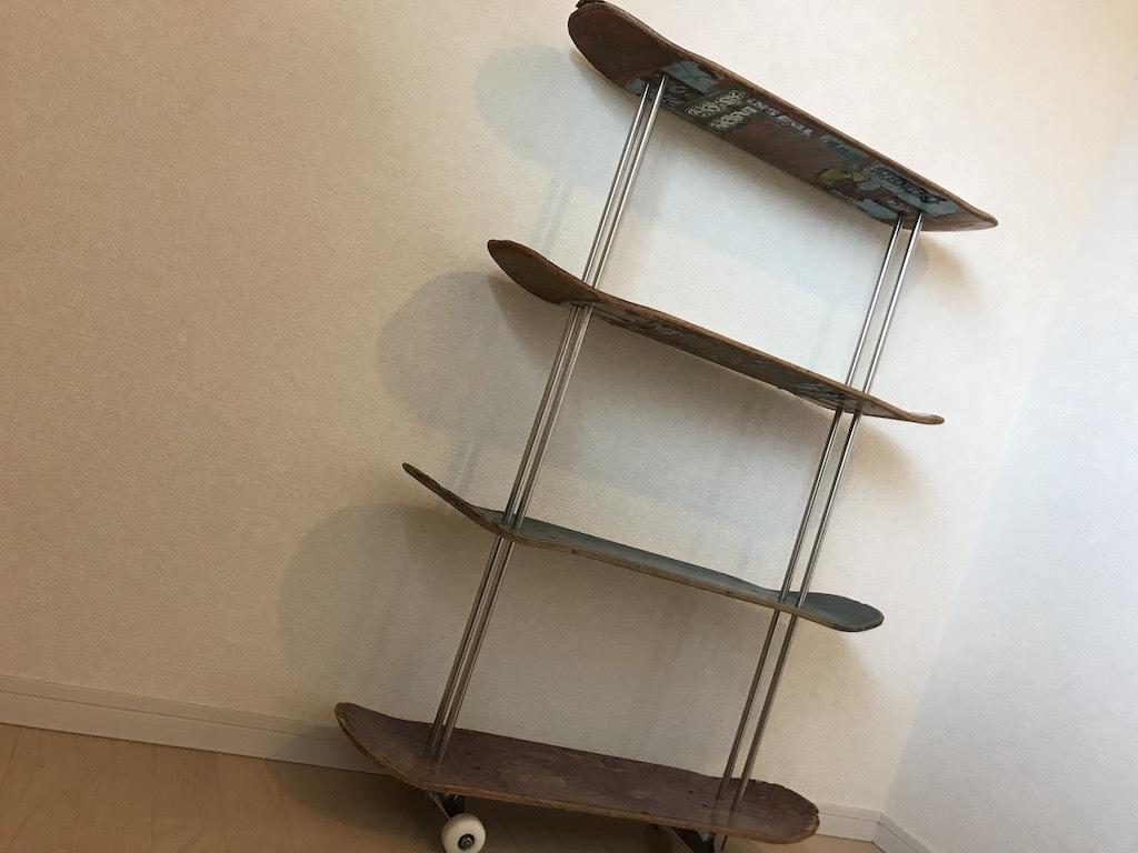 スケートボード 棚