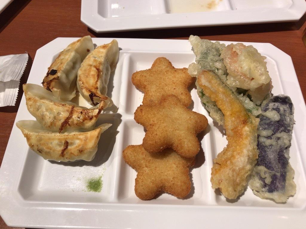 餃子 天ぷら コロッケ